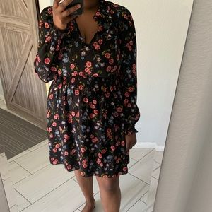 Kate Spade Meadow Smock Waist Dress